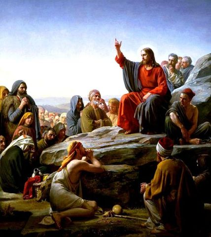 Sermon on the Mount,Carl Heinrich Bloch (1834-1890) - Photo Credit: Wikimedia Commons